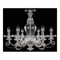 Signature 6 Light 24 inch Chrome Chandelier Ceiling Light