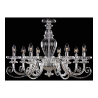 Signature 8 Light 29 inch Chrome Chandelier Ceiling Light
