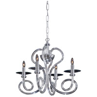 Metropolitan Kobe 4 Light Chandelier in Chrome N9174