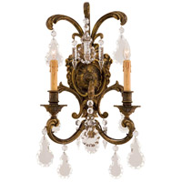Metropolitan Signature 2 Light Sconce in Antique Bronze Patina N9200