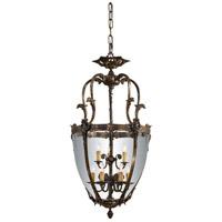 Metropolitan Vintage  9 Light Pendant in Bronze Patina N9201 photo thumbnail