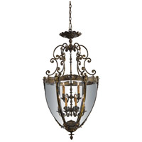 Metropolitan Vintage  12 Light Pendant in French Gold Patina N9204