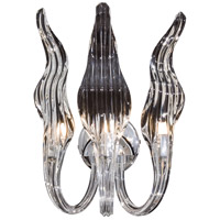 Signature 3 Light 9 inch Chrome Wall Sconce Wall Light