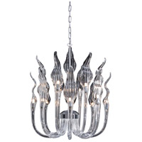 Metropolitan N9219 Arabella 16 Light 21 inch Chrome Chandelier Ceiling Light