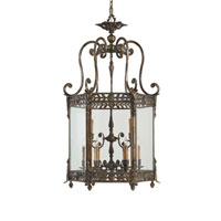 Metropolitan Signature 9 Light Pendant in Oxide Brass N9305