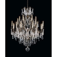 Metropolitan N950040 Signature 24 Light 51 inch Oxidized Brass Chandelier Ceiling Light