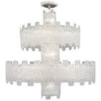 Signature 25 Light 47 inch Clear Crystal Chandelier Ceiling Light, 2 Tier