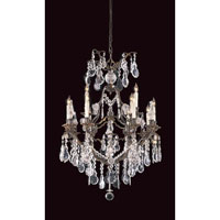 Metropolitan Signature 12 Light Chandelier in Oxide Bronze N950110