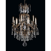 Signature 12 Light 38 inch Oxidized Brass Chandelier Ceiling Light