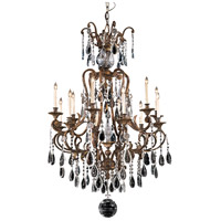 Metropolitan N950115 Signature 12 Light 38 inch Oxidized Brass Chandelier Ceiling Light alternative photo thumbnail