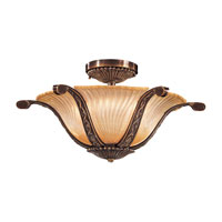 Metropolitan Metropolitan Family 6 Light Semi-flush in Antique Bronze N950333