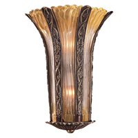 Metropolitan Signature 2 Light Sconce in Antique Bronze N950334