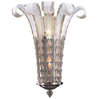 Signature 2 Light 17 inch Platinum Wall Sconce Wall Light