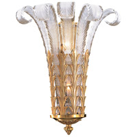 Signature 2 Light 17 inch French Gold Wall Sconce Wall Light