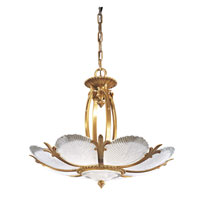 Metropolitan Metropolitan Family 8 Light Pendant in French Gold N950400