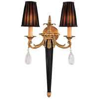 Signature 2 Light 14 inch Sunset Gold Wall Sconce Wall Light