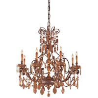 Metropolitan Metropolitan Family 8 Light Chandelier in Dark Flemish N950821