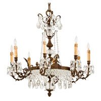 Metropolitan Signature 12 Light Chandelier in Dark Flemish N950840