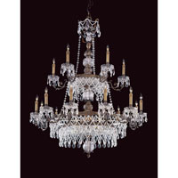 Metropolitan Signature 24 Light Chandelier in Dark Flemish N950847