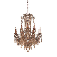 Metropolitan Metropolitan Family 12 Light Chandelier in Autumn Wood N950862