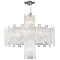 Signature 11 Light 32 inch Clear Crystal Chandelier Ceiling Light