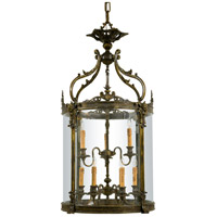 Signature 9 Light 24 inch Oxide French Gold Foyer Pendant Ceiling Light