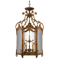 Signature 12 Light 35 inch Oxide Bronze Foyer Pendant Ceiling Light