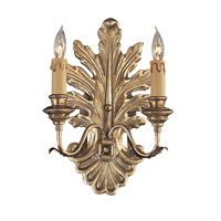 Metropolitan Metropolitan Family 2 Light Wall Sconce in Old Silver N952060