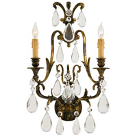 Signature 2 Light 14 inch Oxidized Brass Wall Sconce Wall Light