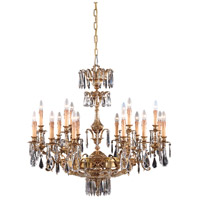Metropolitan Vintage Crystal 18 Light Chandelier in French Gold N9702
