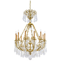 Metropolitan Signature 12 Light Chandelier in French Gold N9710