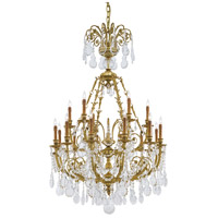 Metropolitan Signature 18 Light Chandelier in French Gold N9711