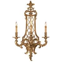 Metropolitan Signature 3 Light Sconce in French Gold N9803