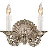 Metropolitan Signature 2 Light Sconce in Polished Chrome N9805-PC