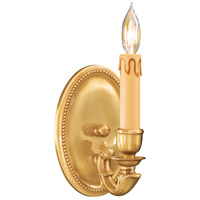 Metropolitan N9808-FG Signature 1 Light 5 inch French Gold Wall Sconce Wall Light photo thumbnail