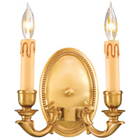Signature 2 Light 8 inch French Gold ADA Wall Sconce Wall Light
