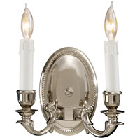 Metropolitan Signature 2 Light Sconce in Polished Chrome N9809-PC