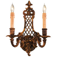 Metropolitan Signature 2 Light Sconce in Oxide Brass N9813-2