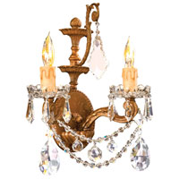 Metropolitan Vintage  2 Light Sconce in Deep French Gold N9839 photo thumbnail