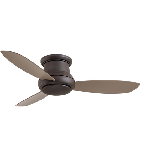 Minka aire f519 orb concept ii 52 inch oil rubbed bronze with taupe minka aire f519 orb concept ii 52 inch oil rubbed bronze with taupe blades ceiling fan flush mount aloadofball Choice Image