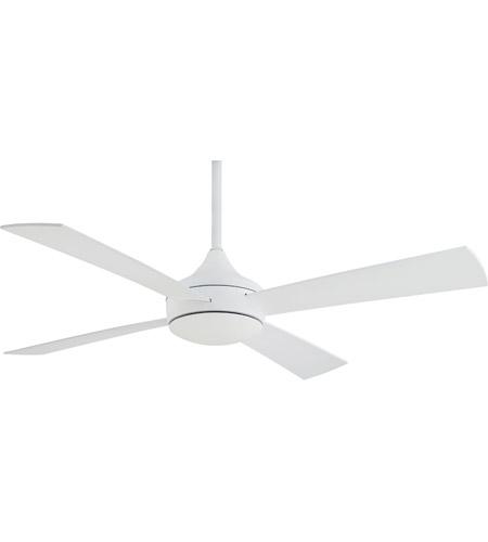 Minka aire f523 whf aluma 52 inch flat white outdoor ceiling fan in minka aire f523 whf aluma 52 inch flat white outdoor ceiling fan in etched opal aloadofball Images