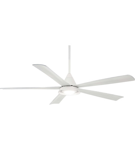 Minka Aire F541l Wh Cone 54 Inch White Outdoor Ceiling Fan Photo