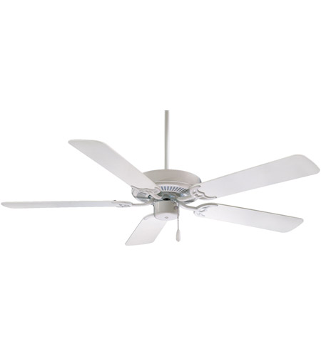 Minka Aire F546 Wh Contractor 42 Inch White Ceiling Fan Photo