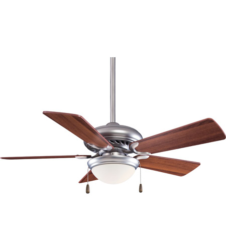 Brushed Steel Supra Indoor Ceiling Fans