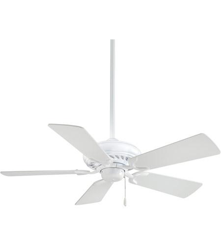 Minka aire f563 wh supra 44 inch white ceiling fan aloadofball Choice Image