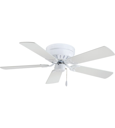 Minka aire f566 wh mesa 42 inch white ceiling fan flush mount aloadofball Image collections
