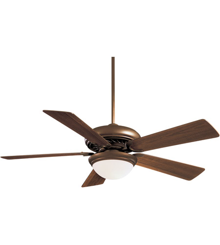 Minka-Aire F569-ORB Supra 52 inch Oil Rubbed Bronze with Medium Maple Blades Ceiling Fan photo thumbnail