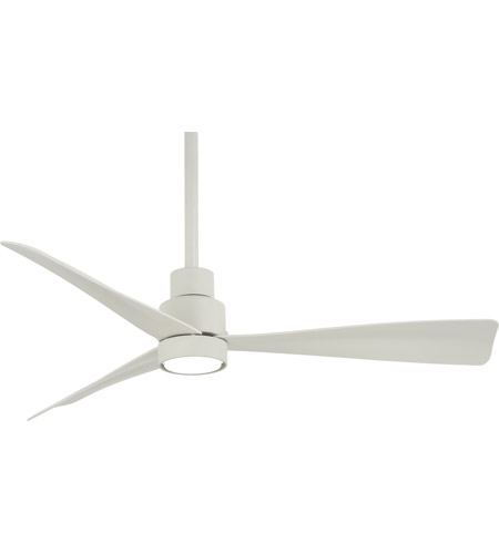 Minka aire f786 whf simple 44 inch flat white outdoor ceiling fan minka aire f786 whf simple 44 inch flat white outdoor ceiling fan light kit not included aloadofball Image collections