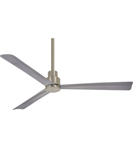 Minka Aire F787 Bnw Simple 52 Inch Brushed Nickel Wet Outdoor Ceiling Fan Photo