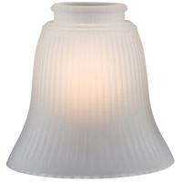 Minka-Aire Signature Glass Shade in Frost/Ribbed 2010